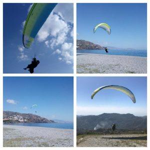 Gleitschirmfliegen Paragliding Almunecar